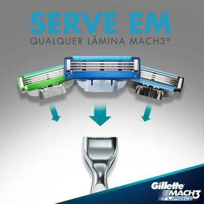 Imagem 4 do produto Carga Gillette Mach 3 Turbo - 4 Unidades