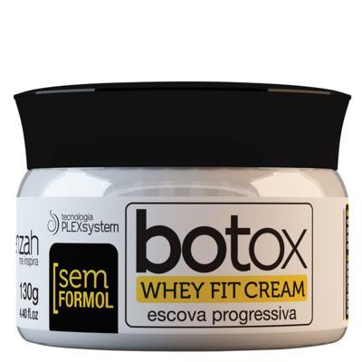 Imagem 1 do produto Botox Whey Fit Cream Yenzah - Escova Progressiva - 130g