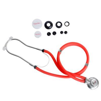 Estetoscópio Rappaport Vermelho Premium