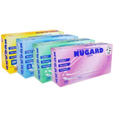 Luva de Procedimento de Látex Nugard - G