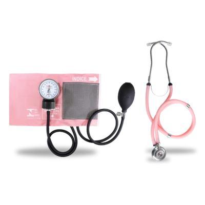 Kit Esteto Rappaport com Aparelho de Pressão Rosa Premium