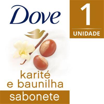 Sabonete Dove Creamy Comfort Karité e Baunilha 90g