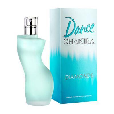 Dance Diamonds de Shakira Feminino Eau de Toilette - 80 ml