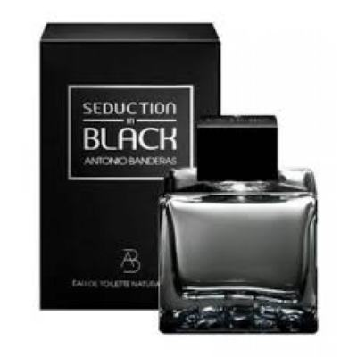 Seduction In Black Splash Eau De Toilette Masculino by Antonio Banderas - 200 ml