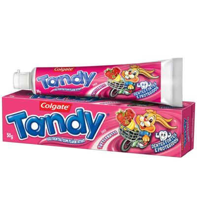 Imagem 1 do produto Gel Dental Tandy Tutti Frutti 50g