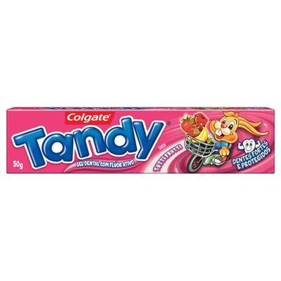 Imagem 2 do produto Gel Dental Tandy Tutti Frutti 50g