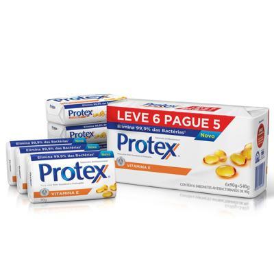 Imagem 1 do produto Sabonete Protex Vitamina E Pack 90g