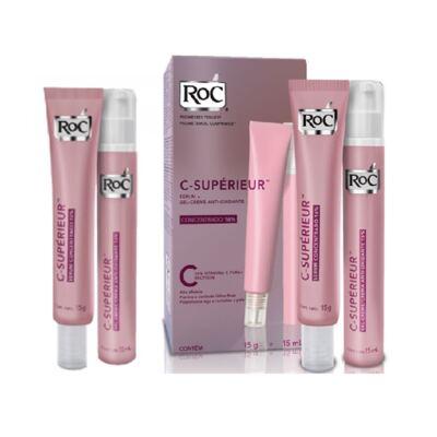 Imagem 2 do produto Roc C Superieur Concentrado 16% + Gel Creme Roc C Superieur Olhos 15g