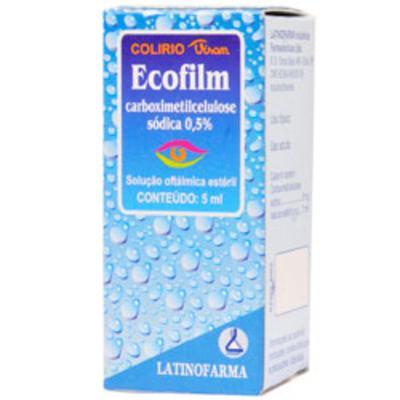 Ecofilm Solução Oftálmica Estéril - 0,5% | 5ml