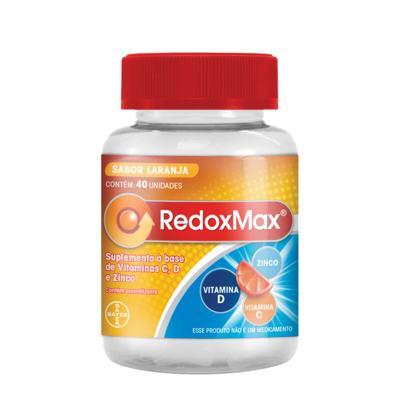 Redoxmax Sabor Laranja 40 Gomas Mastigáveis