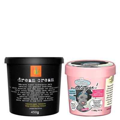 Kit Creme para Pentear + Máscara Lola Cosmetics Dream Cream + Milagre! Diet Cream - Kit