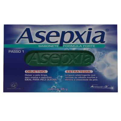 Imagem 2 do produto Kit Asepxia 2 Sabonetes Fórmula Forte 90g + Maquiagem Creme Antiacne Natural 10g