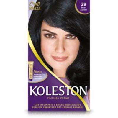 Imagem 1 do produto Tintura Koleston 28 Preto Azulado