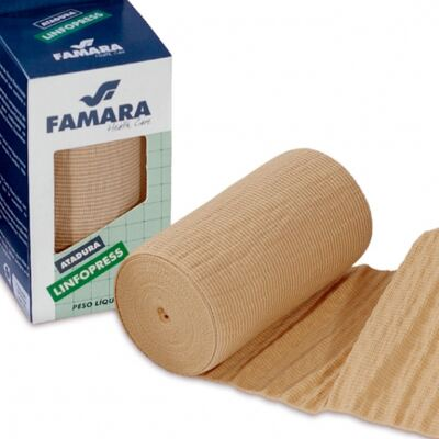 ATADURA LINFOPRESS FAMARA - 10CM X2,70M