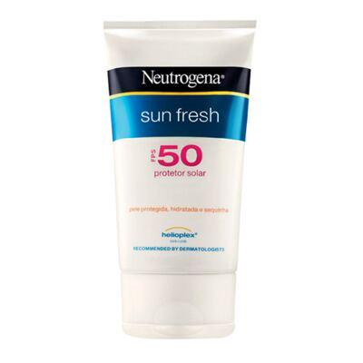 Protetor Solar Neutrogena Sun Fresh FPS50 - 120ml