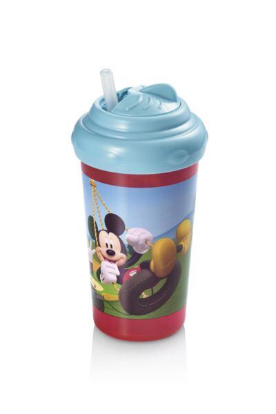 Imagem 1 do produto Copo com Canudo de Silicone 300ml Mickey Multikids Baby - BB082