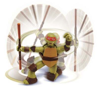 Imagem 1 do produto Boneco Tartarugas Ninjas Action Multikids - Raphael - BR286