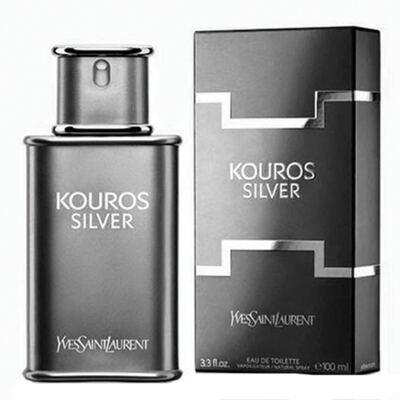 Imagem 1 do produto Kouros Silver Yves Saint Laurent - Perfume Masculino - Eau de Toilette - 100ml