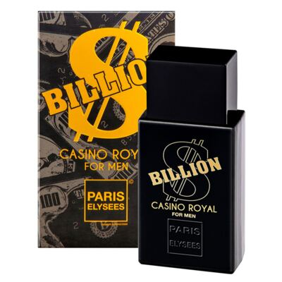 Imagem 2 do produto Billion Casino Royal Paris Elysees - Perfume Masculino - Eau de Toilette - 100ml