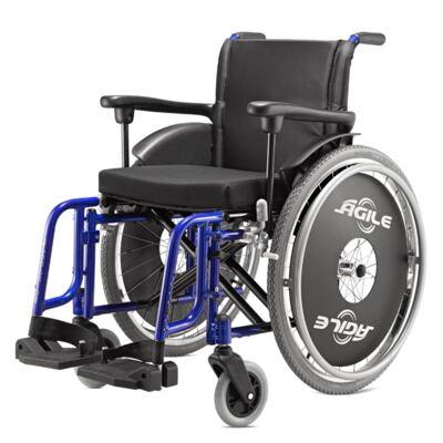 Imagem 1 do produto Cadeira de Rodas Ágile Azul Metálico Jaguaribe