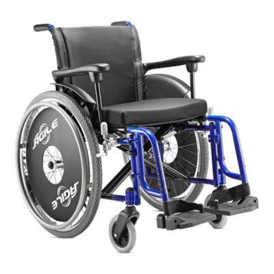 Imagem 2 do produto Cadeira de Rodas Ágile Azul Metálico Jaguaribe