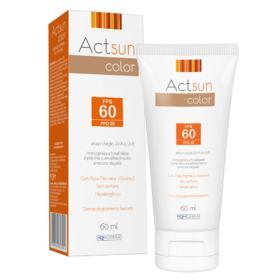 Protetor Solar Facial Actsun Color - FPS60 | 60ml