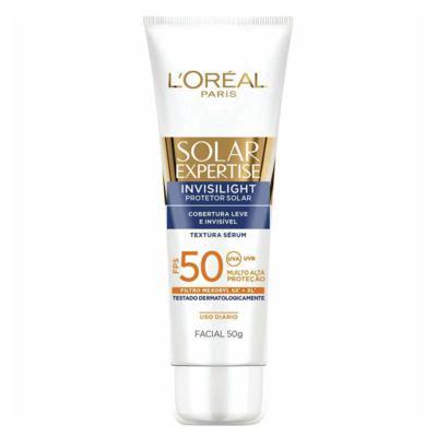 Sérum Protetor Solar L'Oréal Paris Solar Expertise Invisilight Fps 50 - 50g