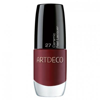 Ceramic Nail Lacquer Artdeco - Esmalte - 27 - Black Red
