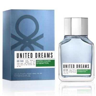United Dreams Men Go Far Benetton Eau de Toilette Masculino - 100 ml