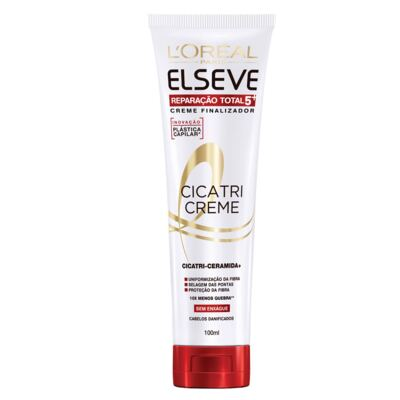 Imagem 4 do produto Kit Cicatri-Creme + Shampoo + Condicionador L'Oréal Paris Elseve Reparação Total 5+ - Kit