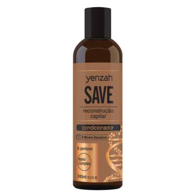 Imagem 2 do produto Yenzah Save Kit - Shampoo + Condicionador + Máscara + Leave-In - Kit