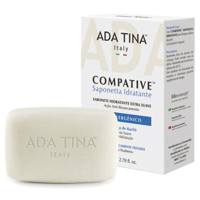 Imagem 1 do produto Compative Saponetta Idratante Ada Tina - Limpador Facial - 80g