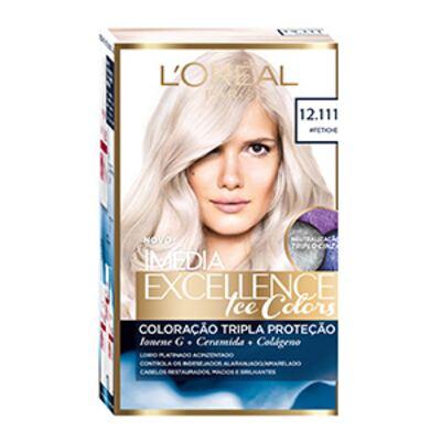 Imagem 1 do produto Tintura Imédia Excellence L'Oréal Ice Colors 12.111 Louro Fetiche