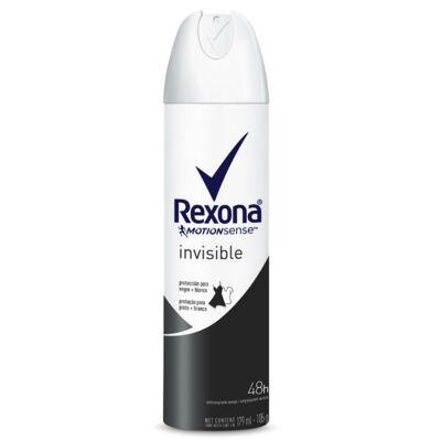 Desodorante Aerosol Rexona Invisible Feminino 179ml