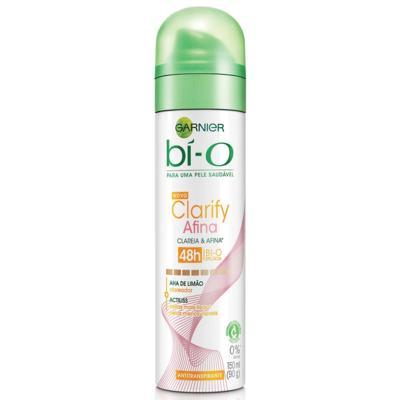 Desodorante Garnier Aerosol Bí-O Clarify Afina e Clareia Feminino 150ml