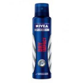 Desodorante Antitranspirante Aerosol Nivea Men - Dry Impact Plus   150ml