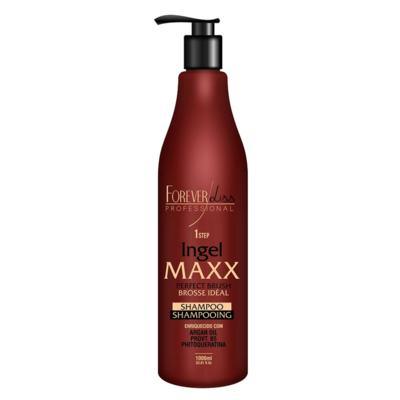 Forever Liss Ingel Maxx Progressiva Step 1 - Shampoo de Limpeza Profunda - 1L