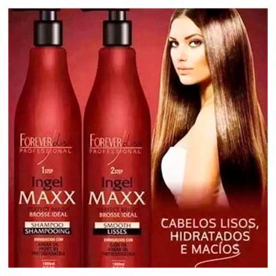 Imagem 2 do produto Forever Liss Ingel Maxx Progressiva Step 1 - Shampoo de Limpeza Profunda - 1L