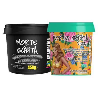 Imagem 1 do produto Kit de Máscaras Lola Cosmetics Lola Morte Súbita Verão + Morte Súbita Super Hidratante - Kit