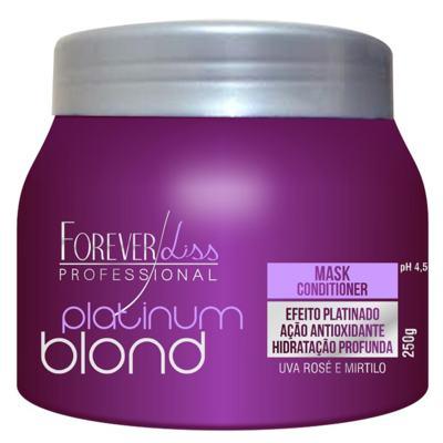 Forever Liss Platinum Blond - Máscara Matizadora - 250g