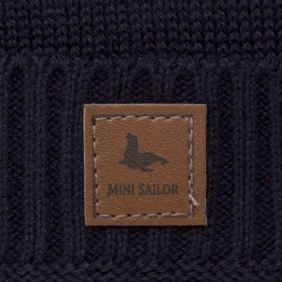 Imagem 2 do produto Touca em tricot Marinho - Mini Sailor - 46124262 GORRO TRICOT MARINHO-1