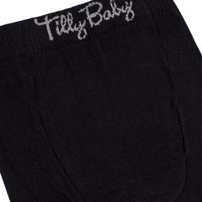 Imagem 3 do produto Meia-Calça para bebe em algodão Preta - Tilly Baby - TB172031.08 ACESSORIO MEIA UNISSEX BASICA PRETO-2