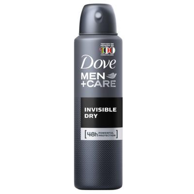 Desodorante Dove Men Care Invisible Dry Masculino Aerosol 89g