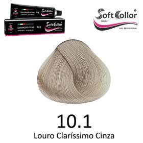 Coloracao Profissional SOFTCOLLOR PERFECT 60g - Cores: Louro Clarissimo - Nuance 10.1 Louro Clarissimo Cinza