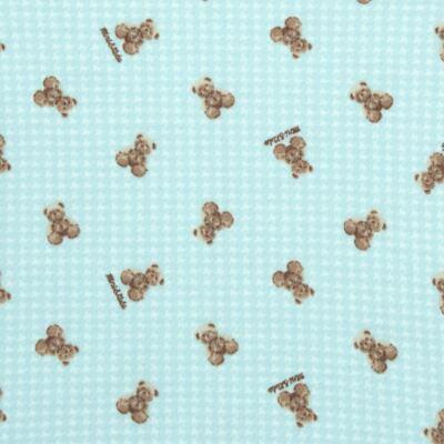 Imagem 2 do produto Body longo para bebe em algodão egípcio c/ jato de cerâmica e filtro solar fps 50 Teddy Sam - Mini & Kids - BS980 BODY LONGO SUEDINE URSINHO-G