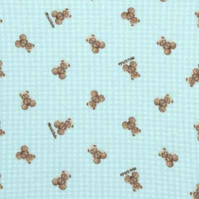 Imagem 2 do produto Body longo para bebe em algodão egípcio c/ jato de cerâmica e filtro solar fps 50 Teddy Sam - Mini & Kids - BS980 BODY LONGO SUEDINE URSINHO-M