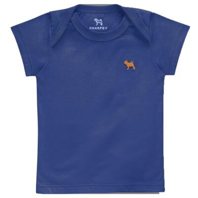 Camiseta Raglan para bebe em malha Ocean - Charpey