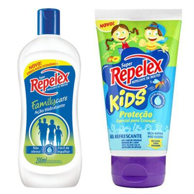 Repelente Repelex Kids 133ml + Repelente Repelex Loção 200ml