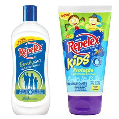 Repelente Repelex Kids 133ml + Repelente Repelex Loção 200ml