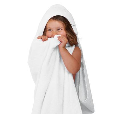 Imagem 2 do produto Toalha Max Splash & Wrap Branca - Clevamama - 2929 TOALHA C/CAPUZ ATÉ 4ANOS BRANCO